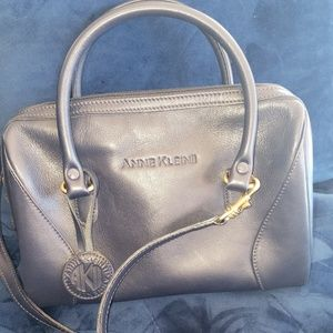 Anne Klein II Navy Blue Handbag Crossbody